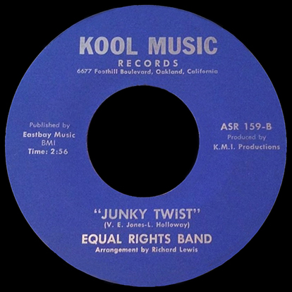 Equal Rights Band, Kool Music 45rpm Record