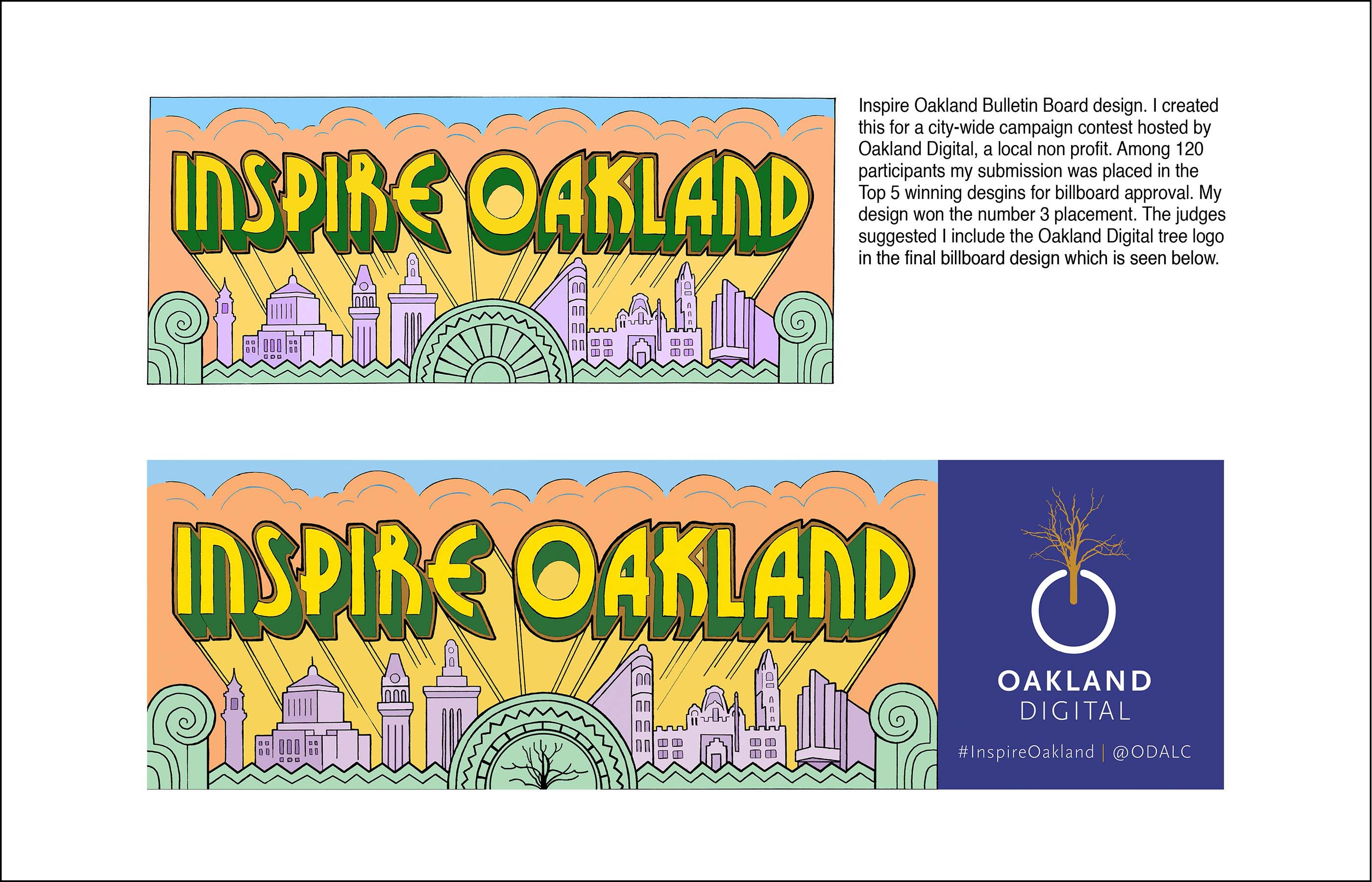 Click here to see more details about the Inspire Oakland billboard project